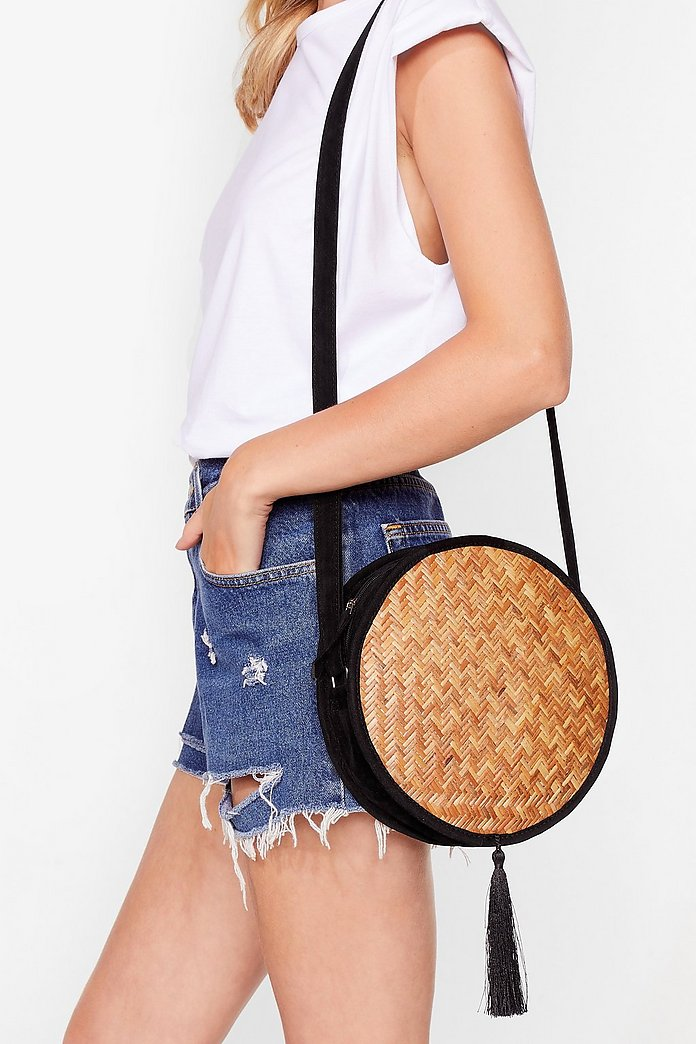 Want Last Straw Crossbody Bag by Nasty Gal