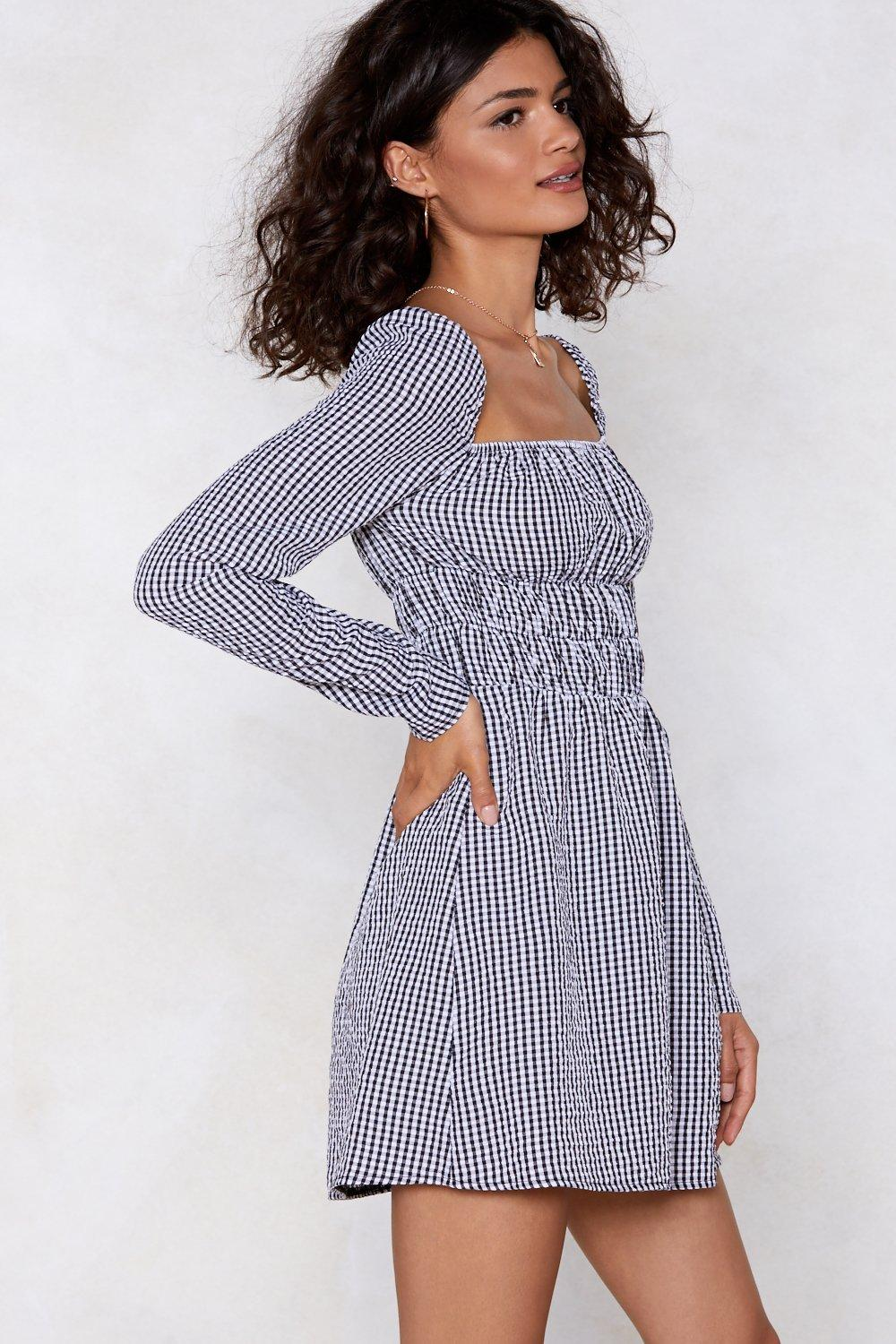 4c503c78b7694 Scarborough Square Gingham Dress | Shop Clothes at Nasty Gal!