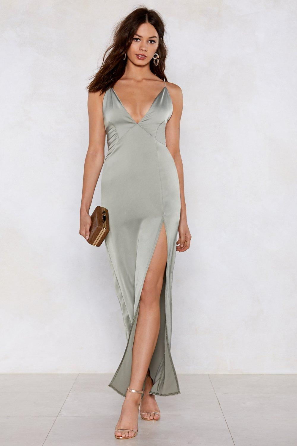 d76e45a759d Take the Plunging Maxi Dress | Shop Clothes at Nasty Gal!