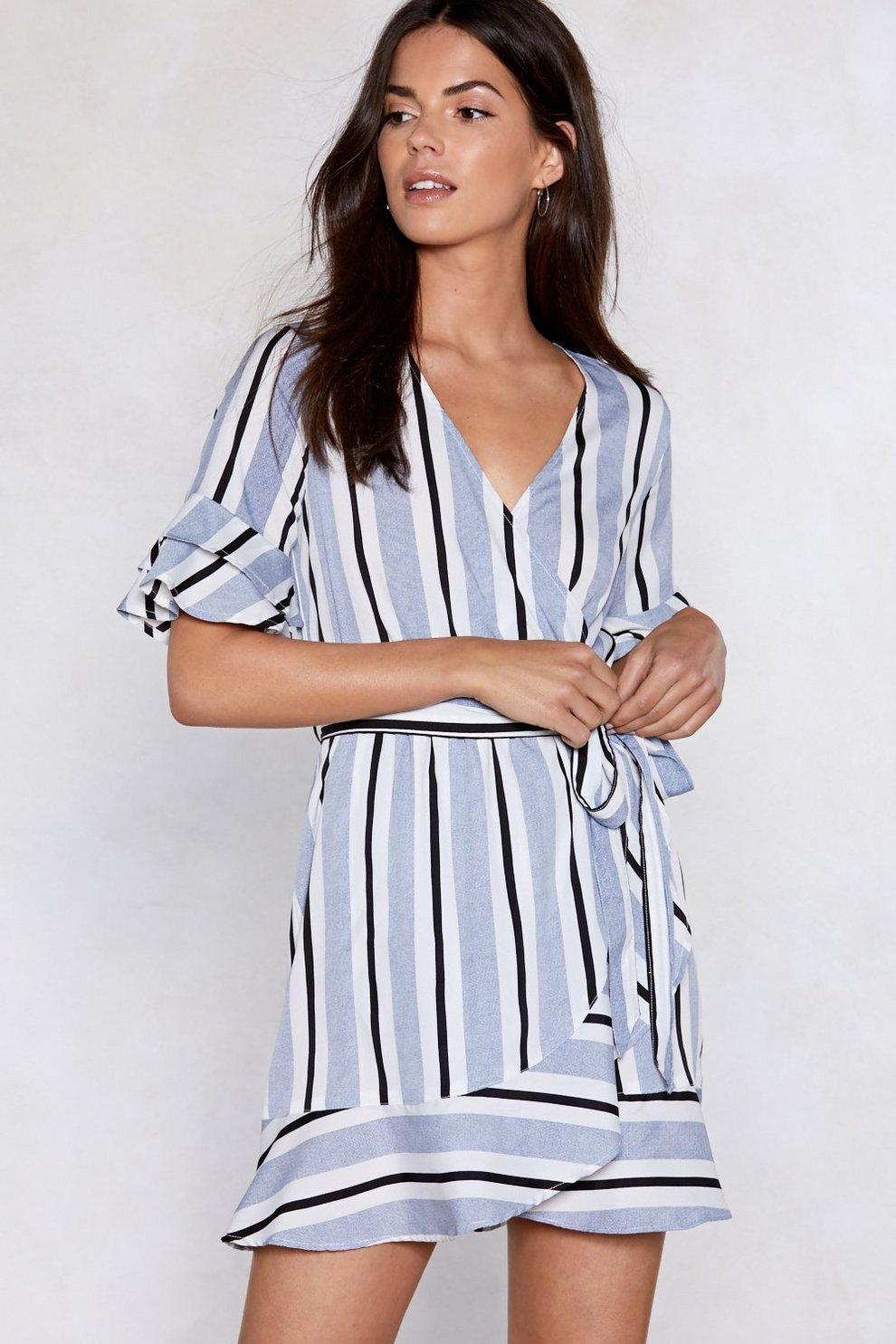 4e9000625a Such a Nautical Girl Striped Dress | Shop Clothes at Nasty Gal!