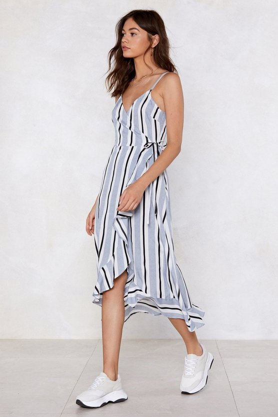 Only Line Will Tell Striped Dress by Nasty Gal