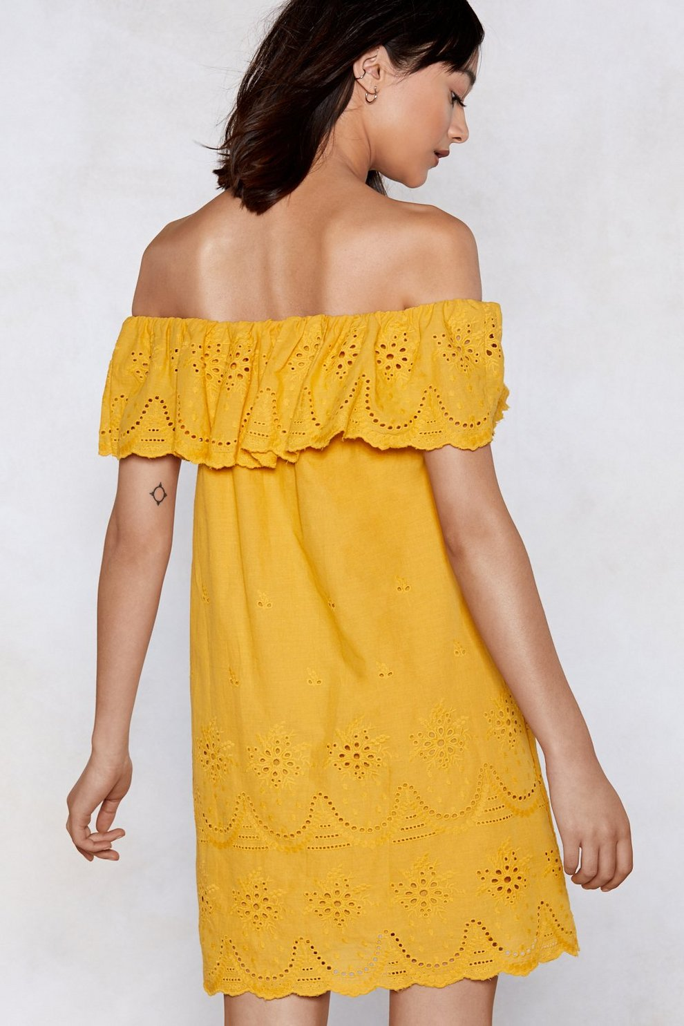Move Over Off-the-Shoulder Dress  17915c52e