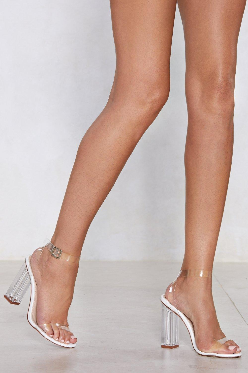 b4952b99646 Let's Be Clear Heel   Shop Clothes at Nasty Gal!