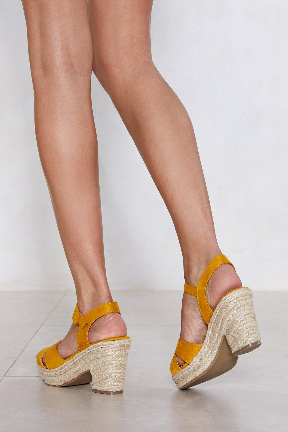 Walking on Sunshine Espadrille Sandal cheap sale new styles countdown package cheap online sale real Jd0bPoGg