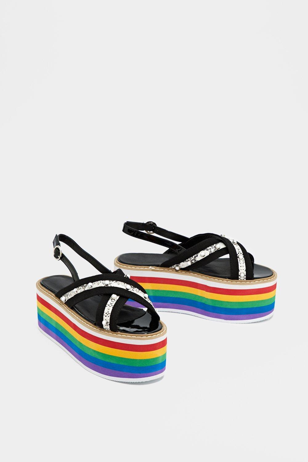 Do It with Pride Platform Sandal really online outlet footlocker pictures cheap sale pre order 5xRQ6D