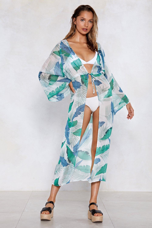 190a05cc00 Hey Beach Palm Cover-Up Kimono | Shop Clothes at Nasty Gal!