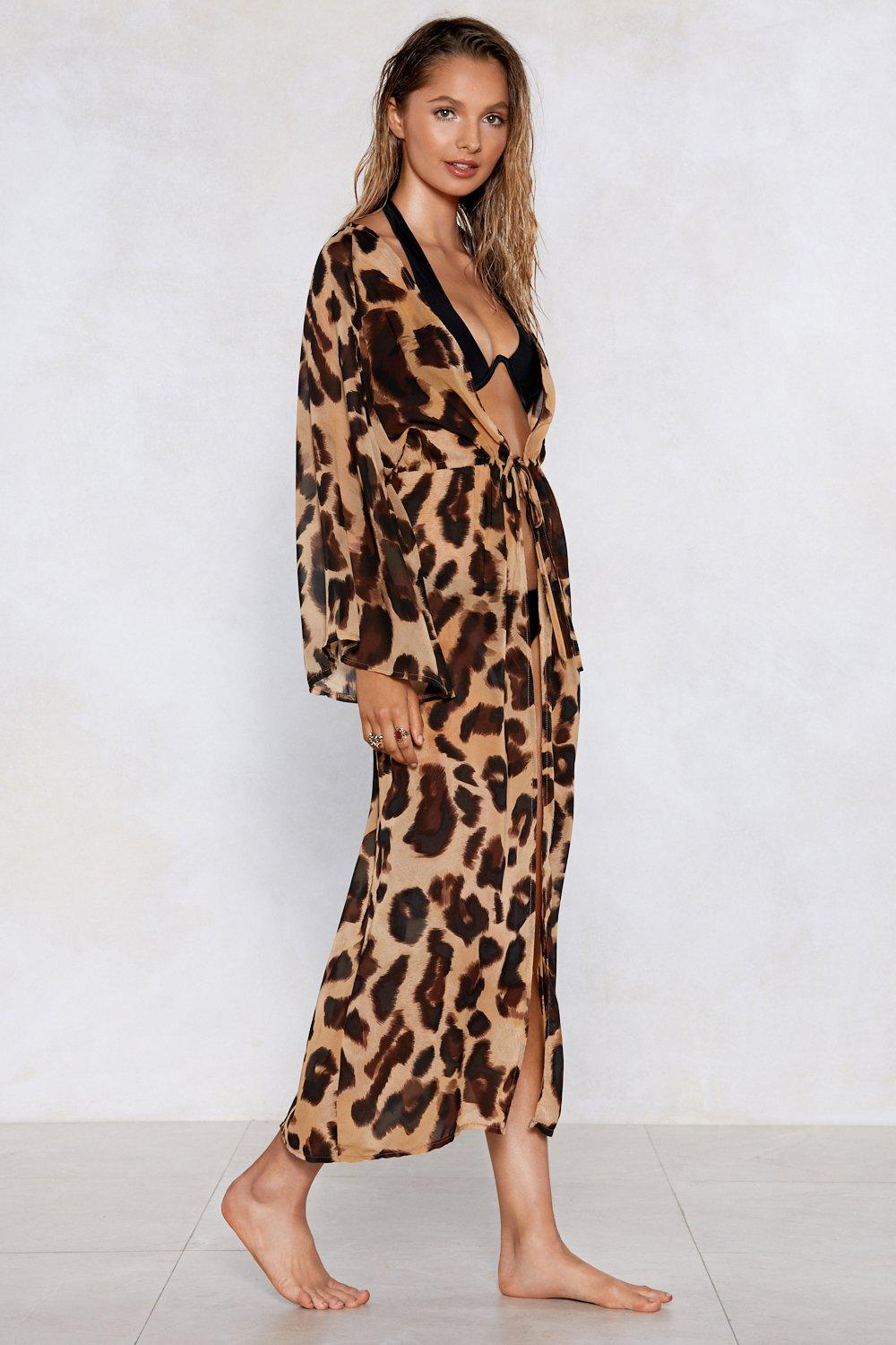 5b071f042ce8 Far and Wild Leopard Cover-Up | Shop Clothes at Nasty Gal!