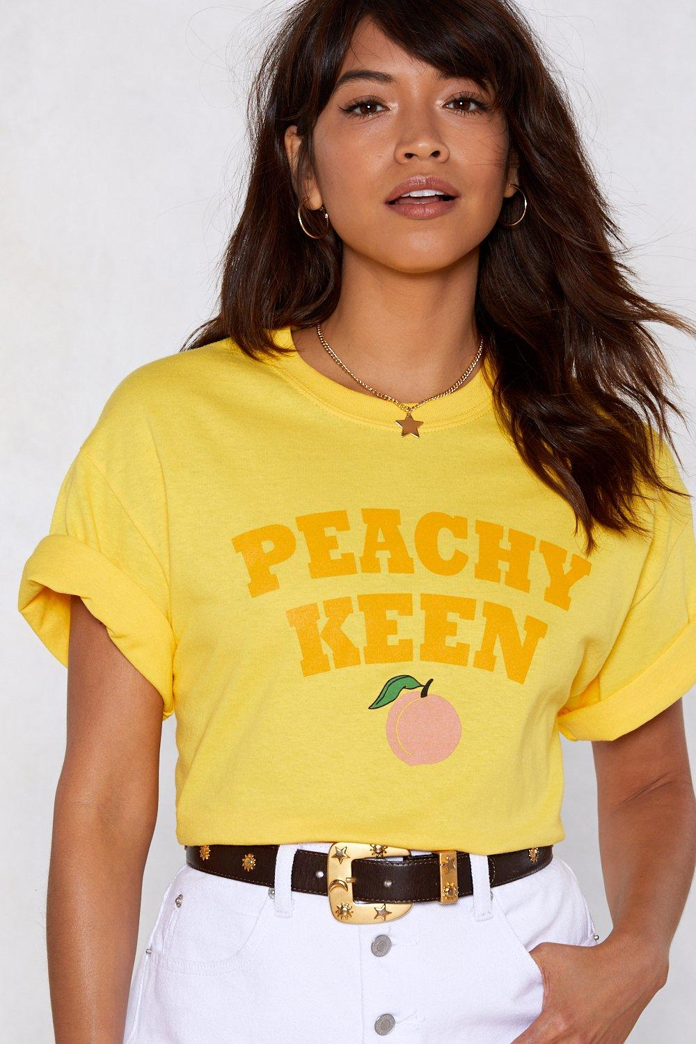 e60875684ce Peachy Keen Relaxed Tee | Shop Clothes at Nasty Gal!