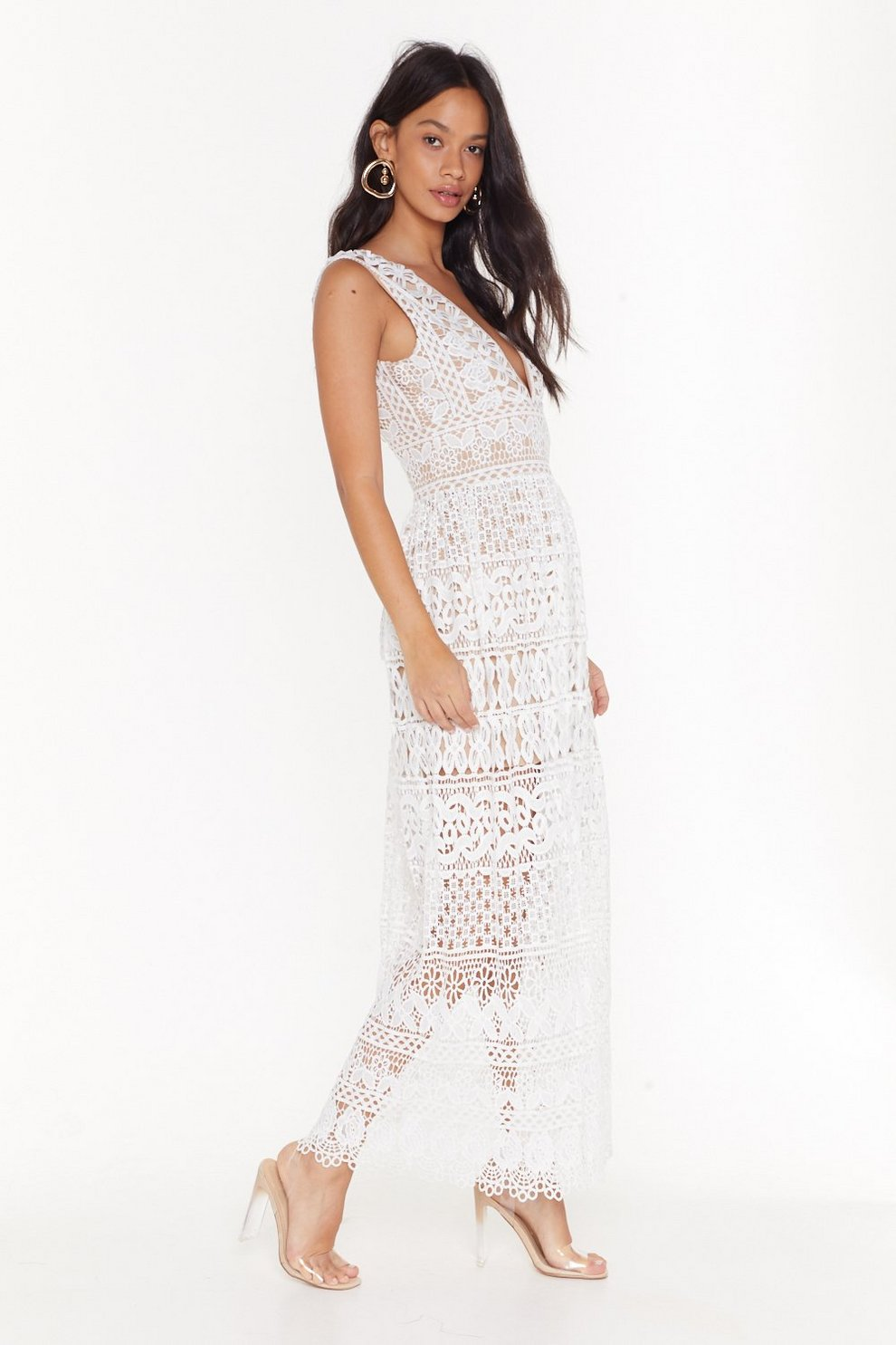 a9eba2e06477b In Lace of Emergency Midi Dress | Shop Clothes at Nasty Gal!