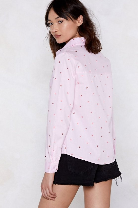 Cherry Oh Baby Shirt by Nasty Gal