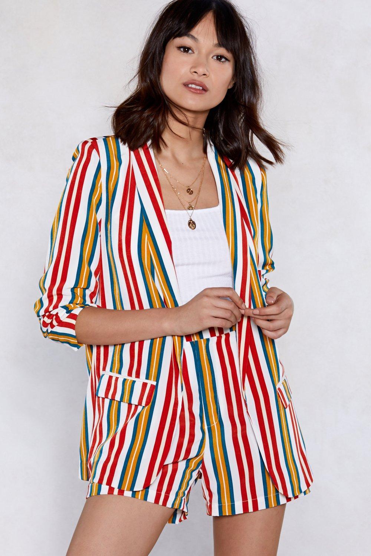 94fc114d5c0d Set It Straight Striped Blazer | Shop Clothes at Nasty Gal!