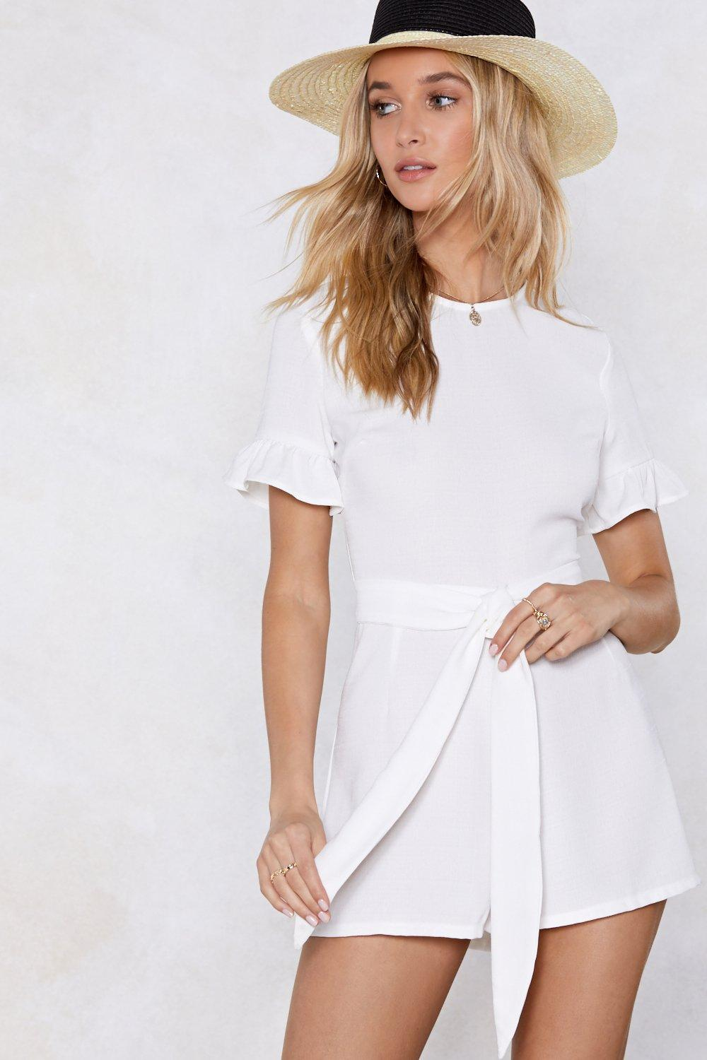 1060484398246 Not Just a One Trip Wonder Linen Romper | Shop Clothes at Nasty Gal!