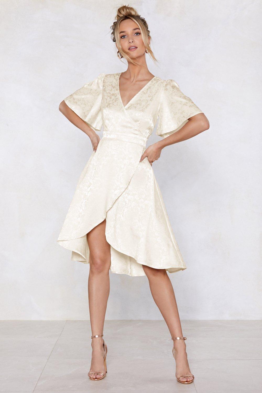 89c42370900 Womens Cream Turn Heads Jacquard Dress.