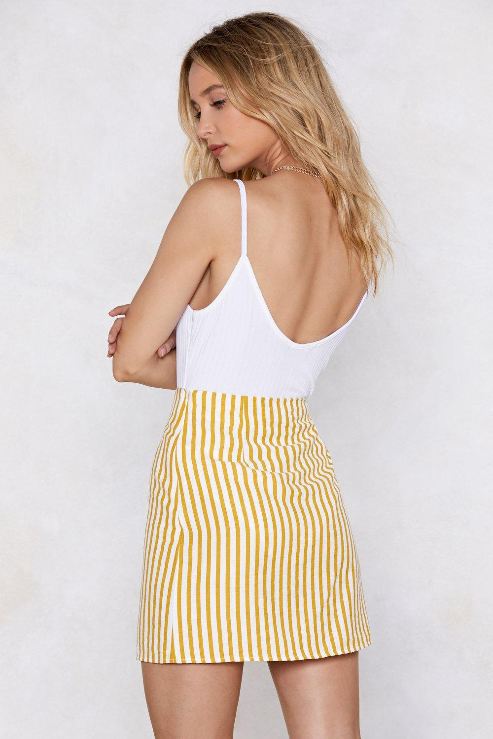 543e537be0 Get Down to It Striped Skirt | Shop Clothes at Nasty Gal!