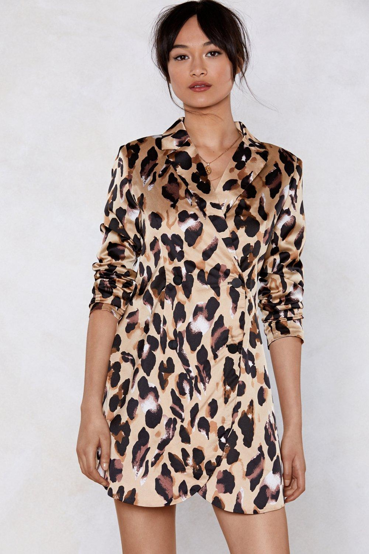 d8726c616469 So Fierce Leopard Blazer Dress   Shop Clothes at Nasty Gal!