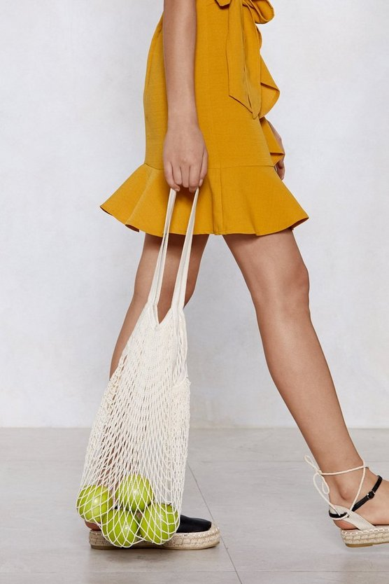 Want Catch Of The Day Net Tote Bag by Nasty Gal