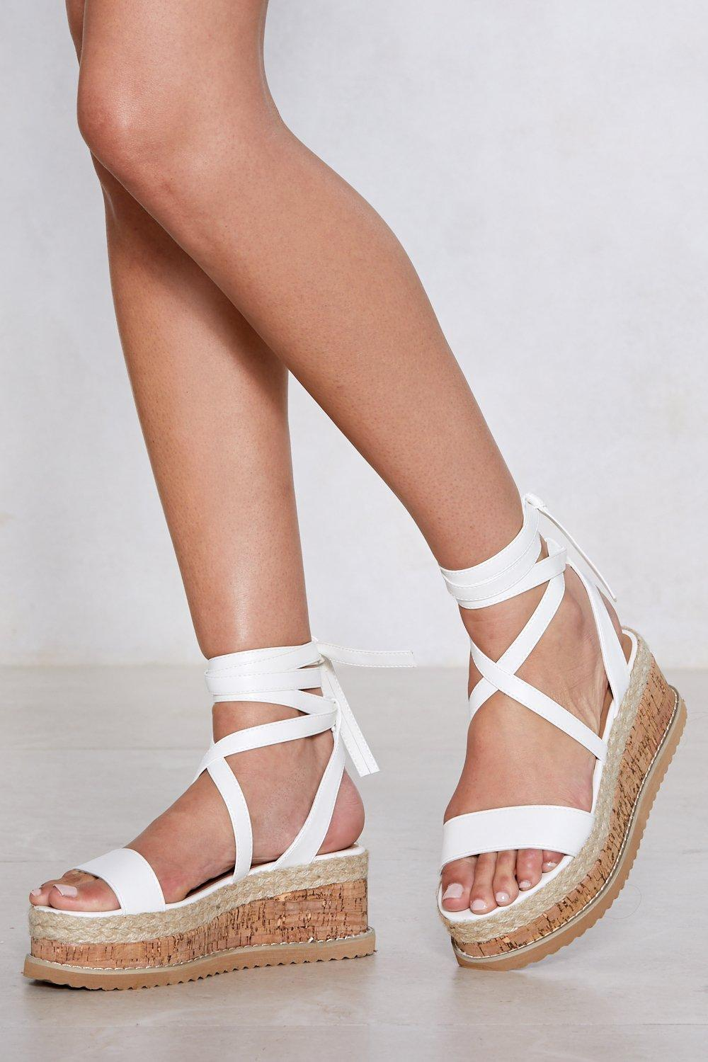 7132be6fff8 Enough with the Cork Platform Sandal