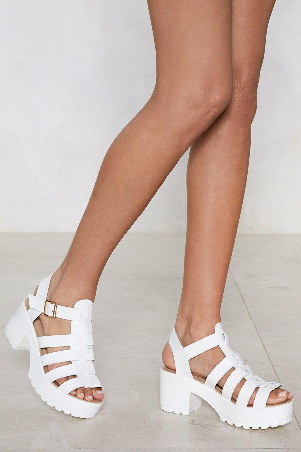 f385138bd There's No One Gladiator Sandal | Shop Clothes at Nasty Gal!