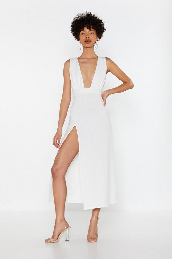 Deep On Dancing Midi Dress by Nasty Gal