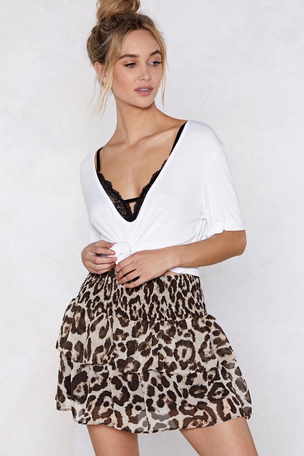 2ab9a1540423 Just Take a Mini Leopard Skirt | Shop Clothes at Nasty Gal!