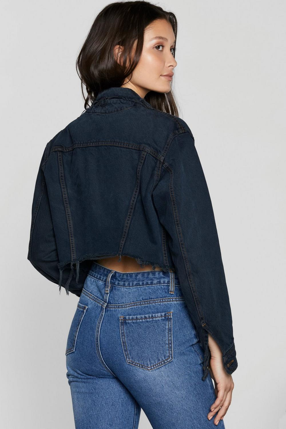 great look 2019 original various styles After Party Vintage Short Notice Denim Jacket | Shop Clothes ...