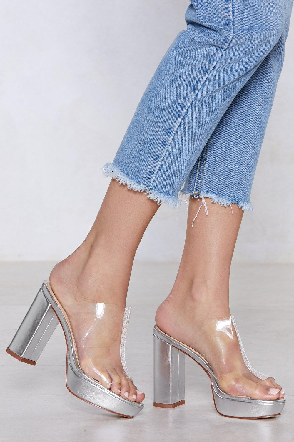 25d974111 Coast is Clear Metallic Mule | Shop Clothes at Nasty Gal!