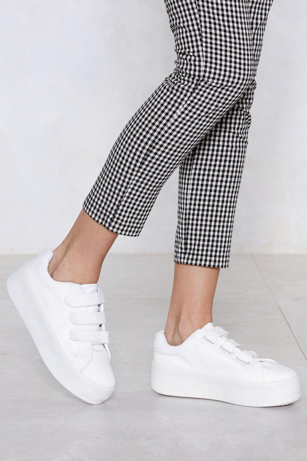 59360be54 You Raise Me Up Platform Sneaker | Shop Clothes at Nasty Gal!
