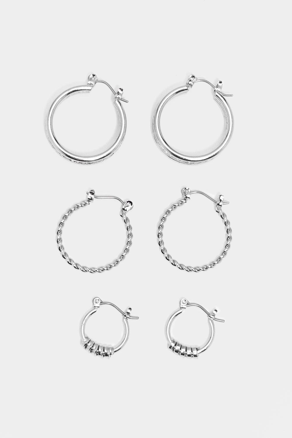4e9c546cca50f One's Company Hoop Earring Set | Shop Clothes at Nasty Gal!