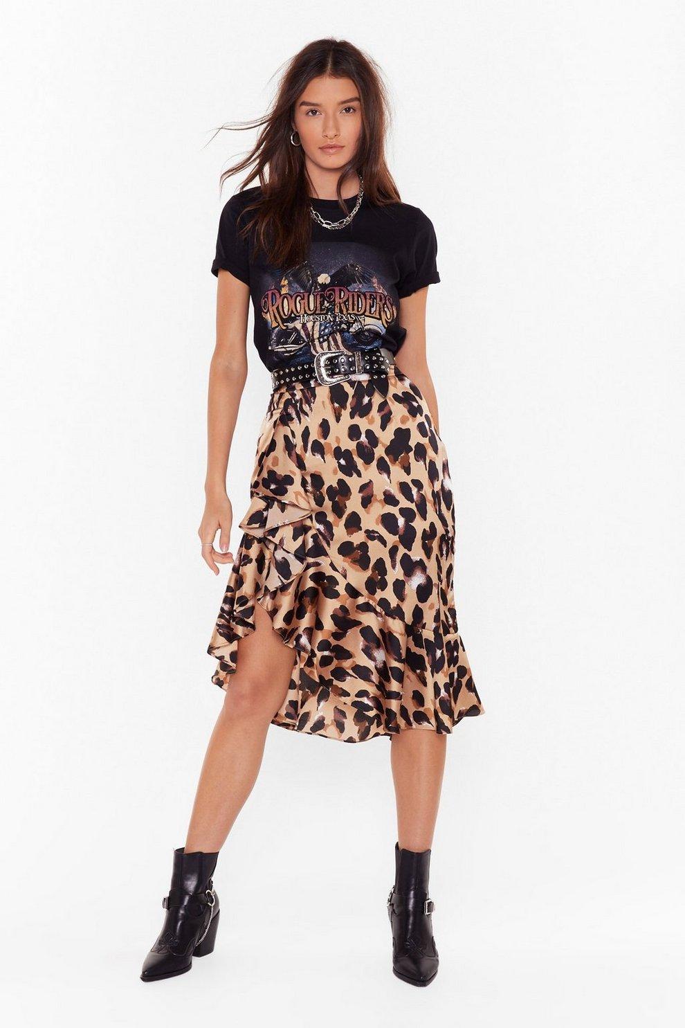 cc4cca008a So Fierce Leopard Skirt | Shop Clothes at Nasty Gal!