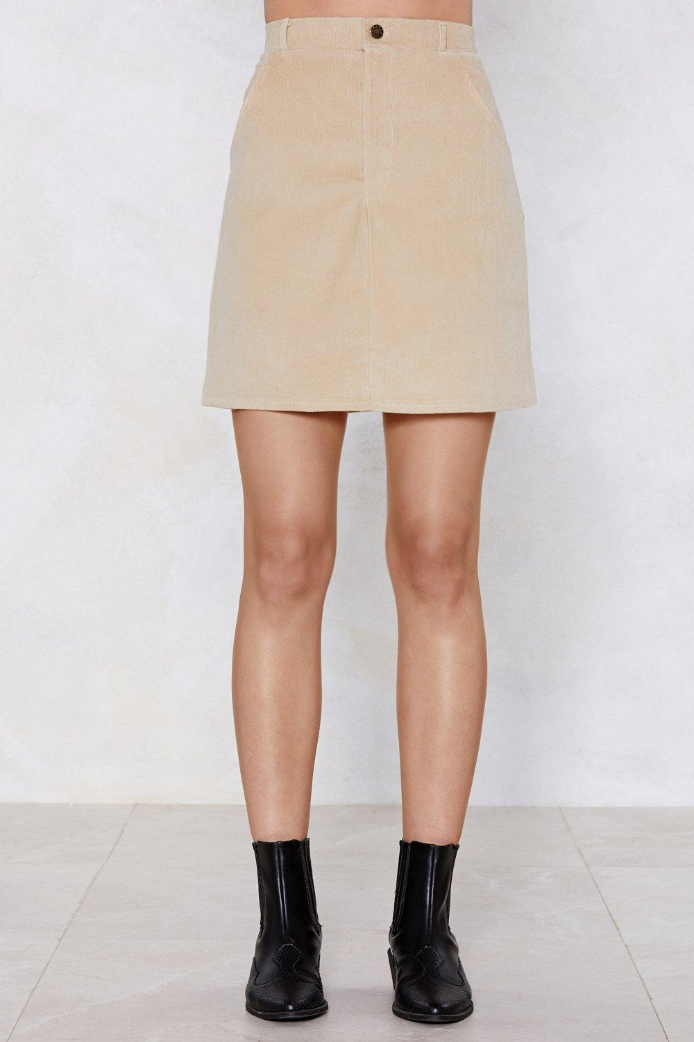 2db8ab6969 Get on Cord Mini Skirt | Shop Clothes at Nasty Gal!