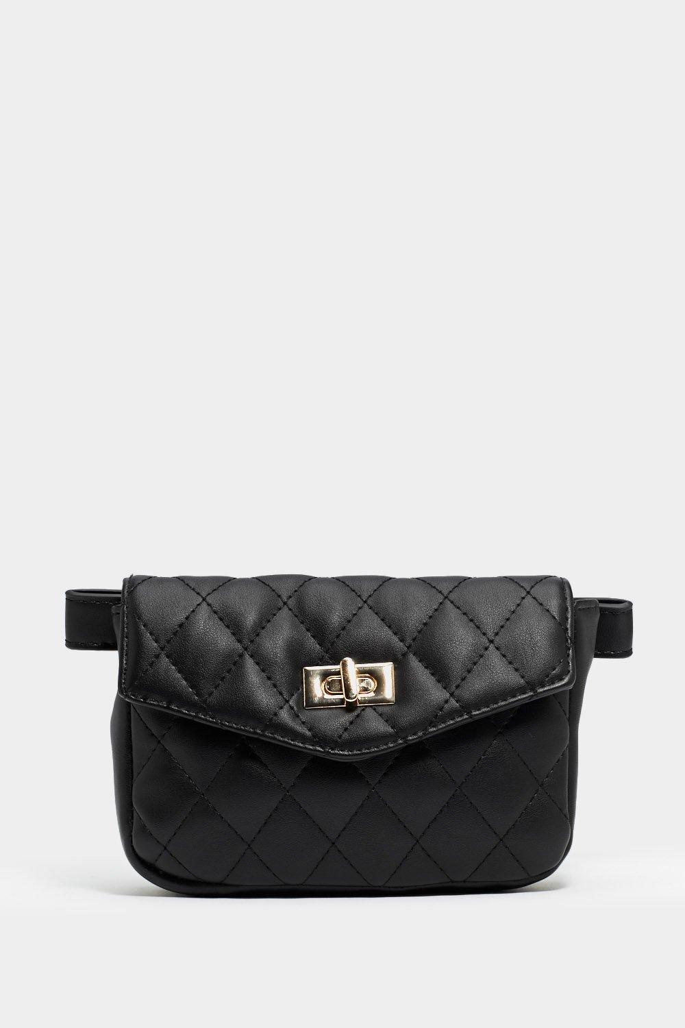 b607c28bd8f5 WANT You Haven t Failed Quilted Belt Bag