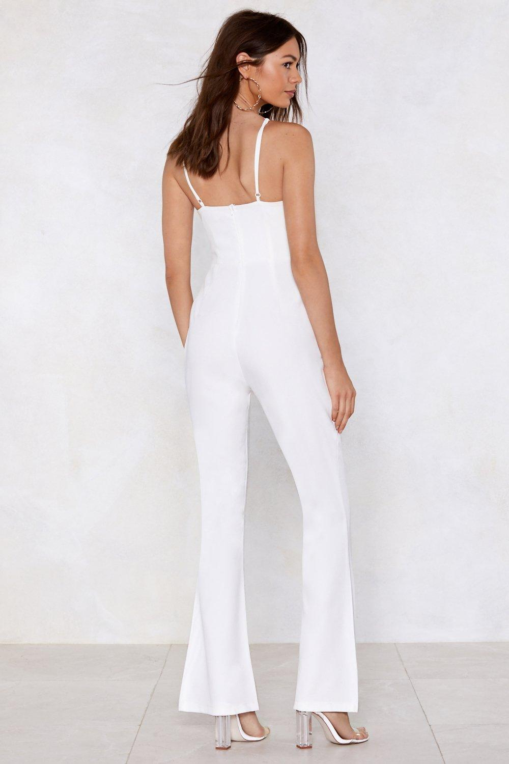 87d960abfd Nasty Gal Studio Talithia Embroidered Jumpsuit
