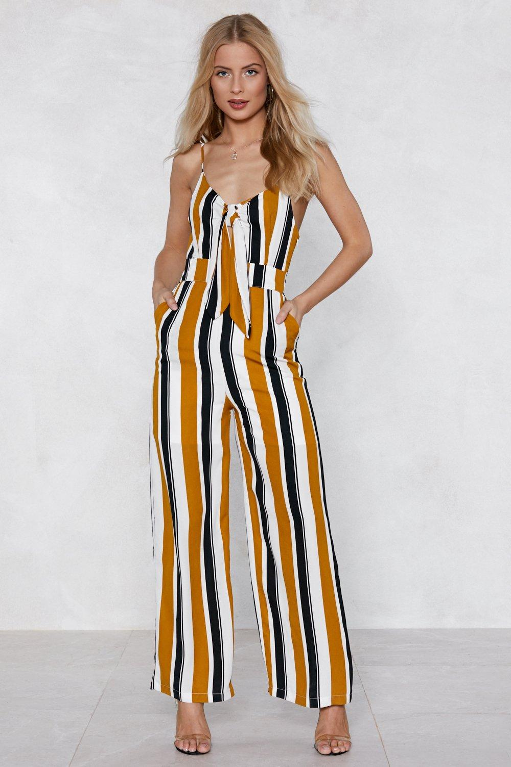 1215292850 If the Stripe is Right Jumpsuit
