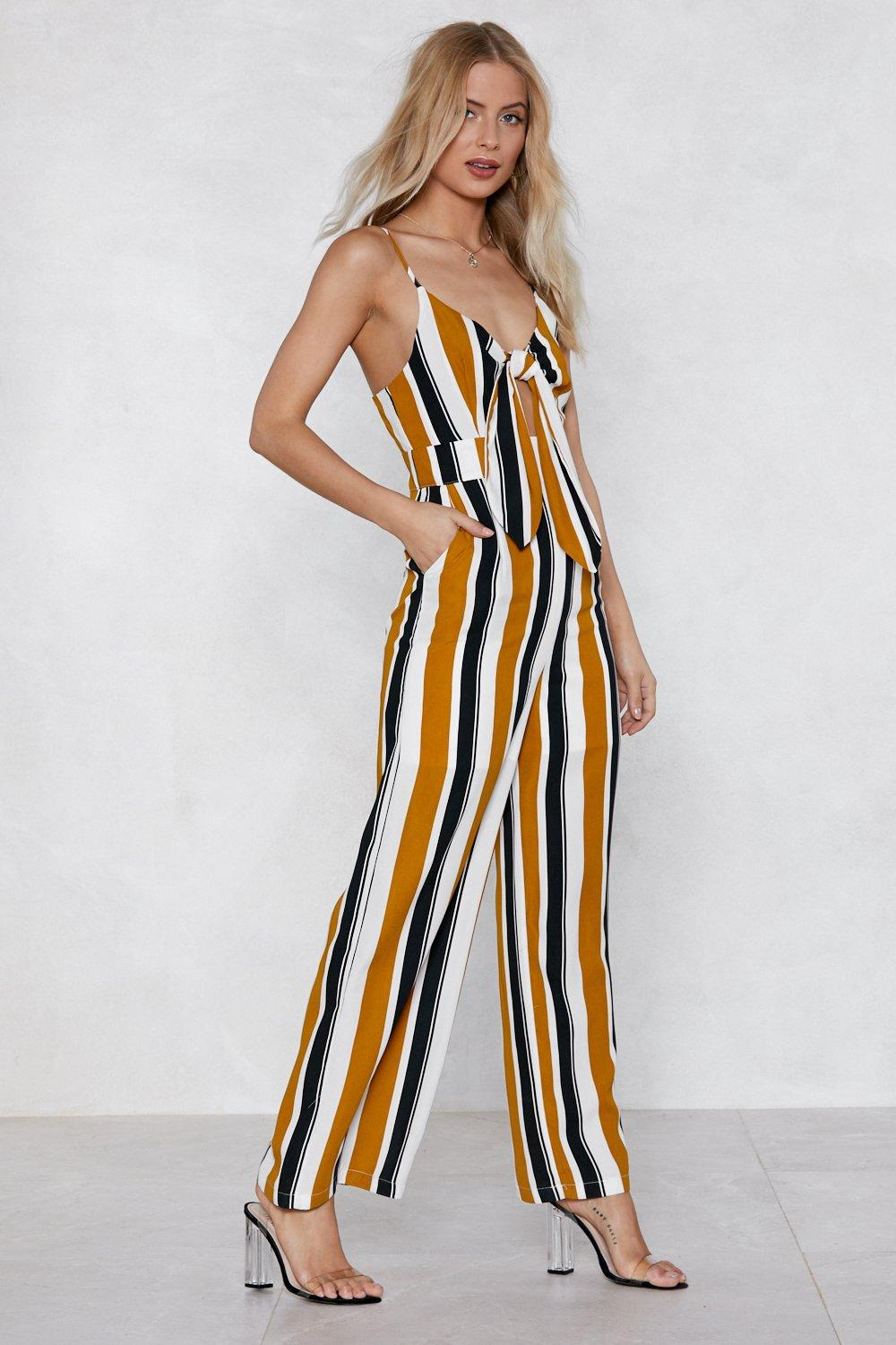 d5e135010bd0 Hover to zoom · If the Stripe is Right Jumpsuit