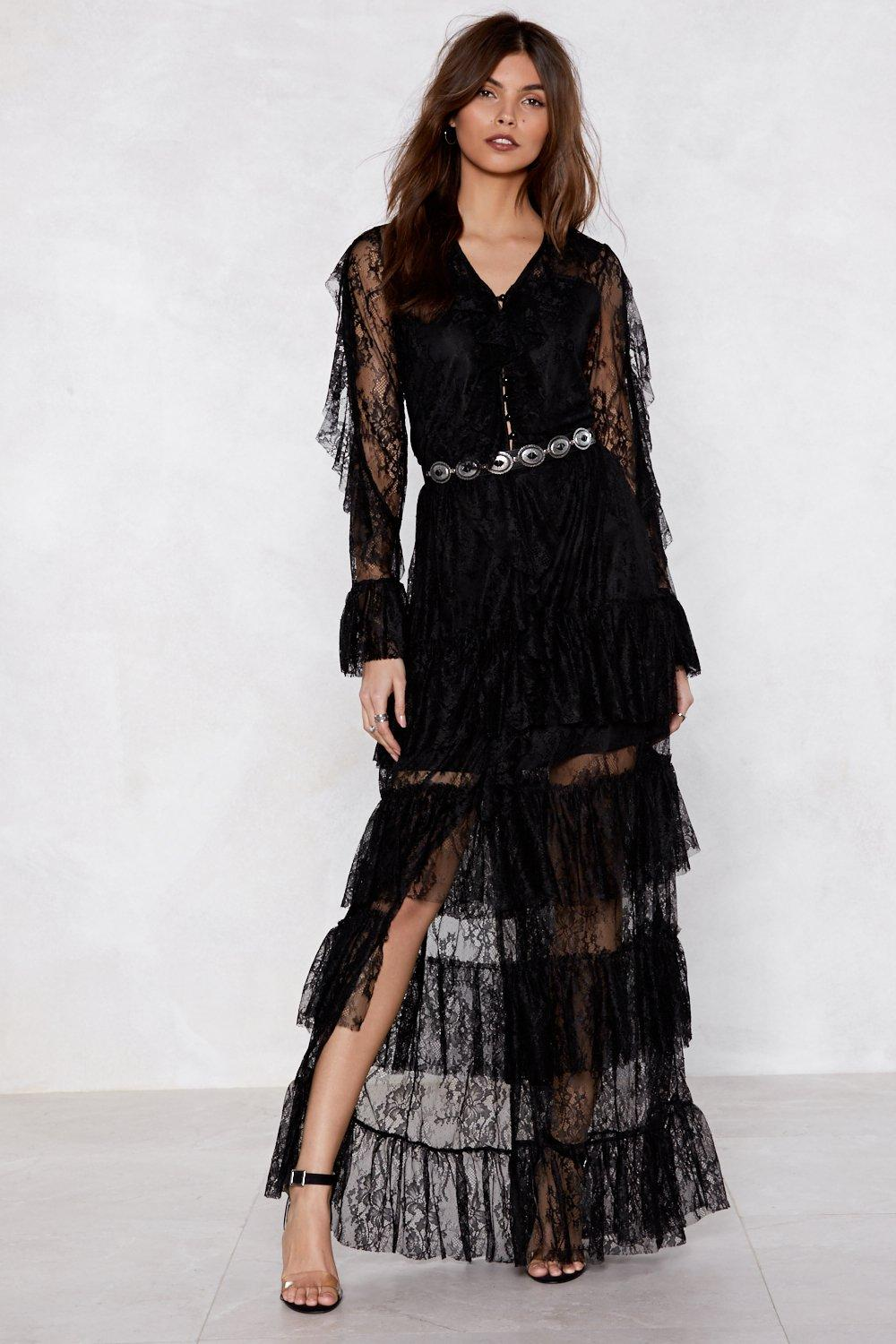 Dark Horse Lace Dress | Shop Clothes at Nasty Gal!