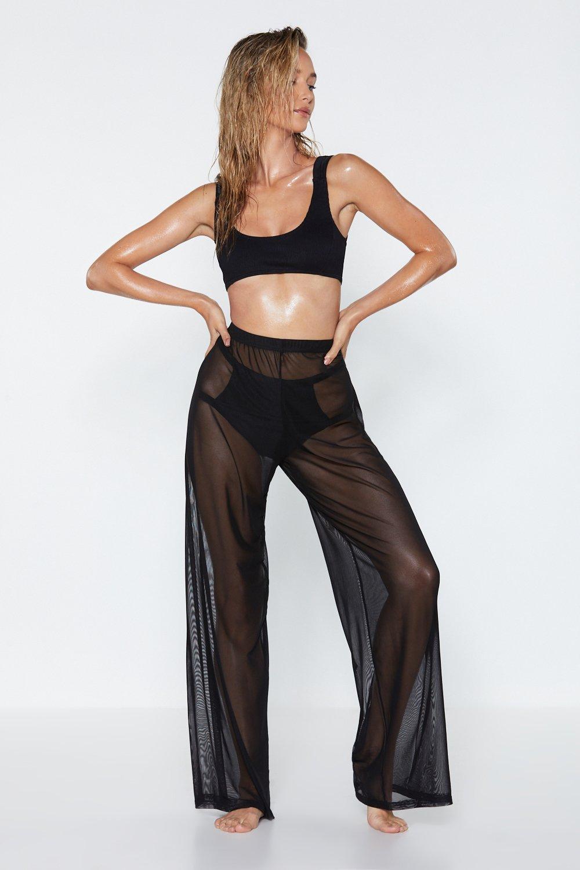f57606cbce6 Plain Sailing Sheer Cover-Up Pants | Shop Clothes at Nasty Gal!