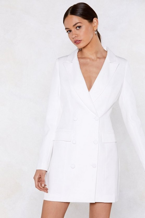 Powers That Be Blazer Dress by Nasty Gal