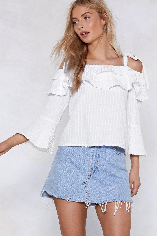 e5356146d5b0d0 Tier It Up Cold Shoulder Top | Shop Clothes at Nasty Gal!