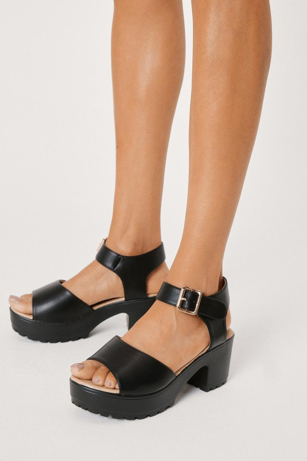 c3277feaca966 Aces High Faux Leather Sandal | Shop Clothes at Nasty Gal!