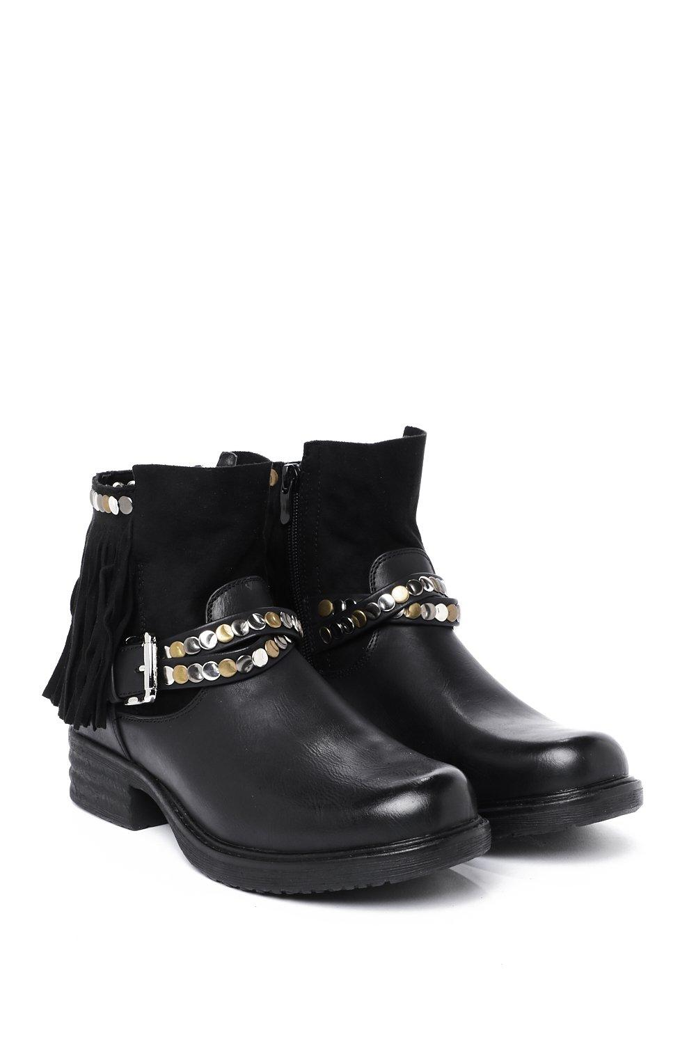05c4c093709 Let s Hang Out Faux Leather Boot