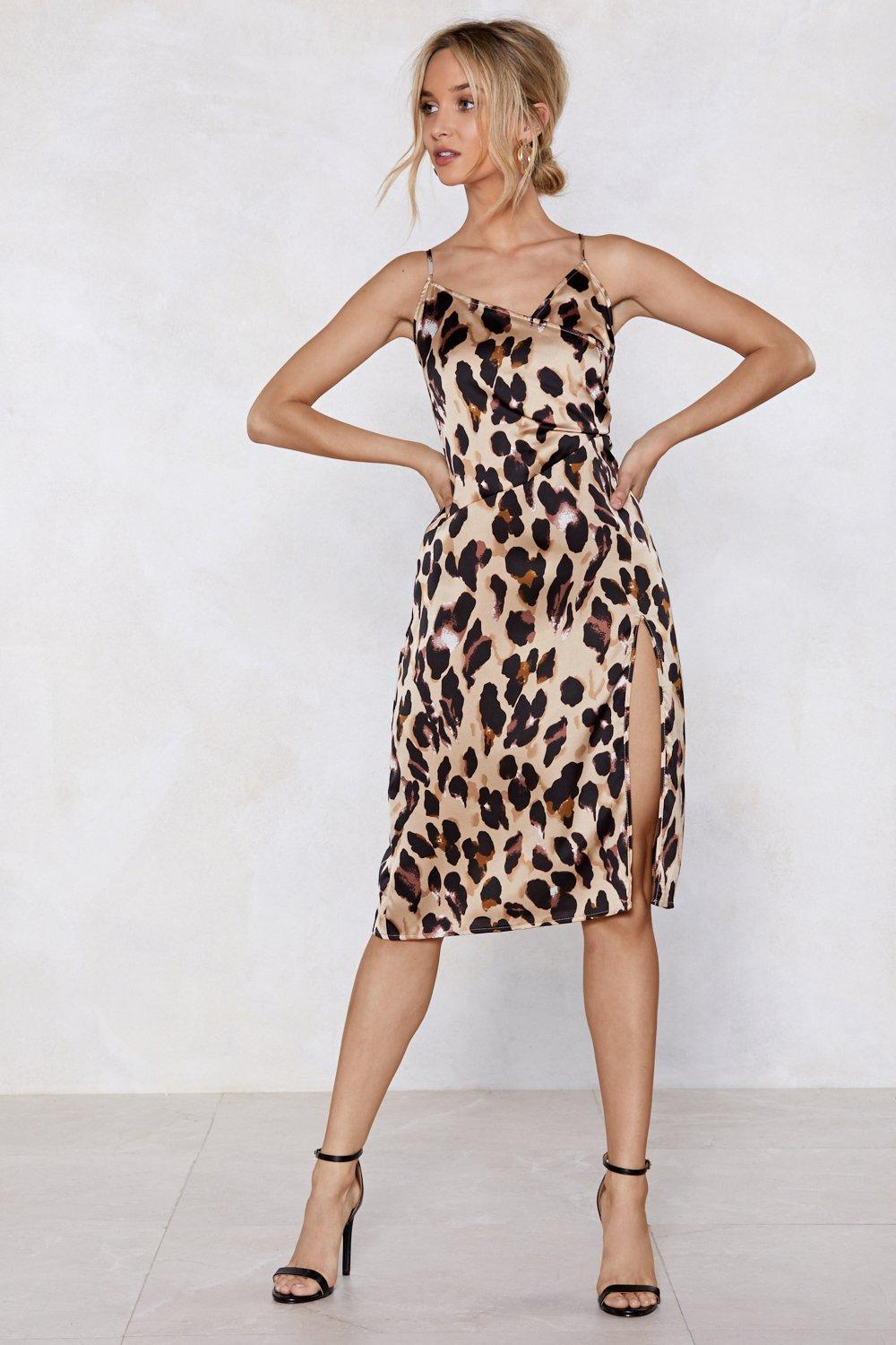So Fierce Leopard Dress  e7e9d915b