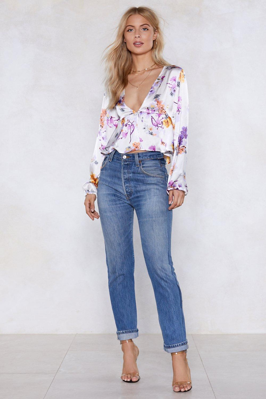 Thanks a bunch floral crop top shop clothes at nasty gal thanks a bunch floral crop top mightylinksfo