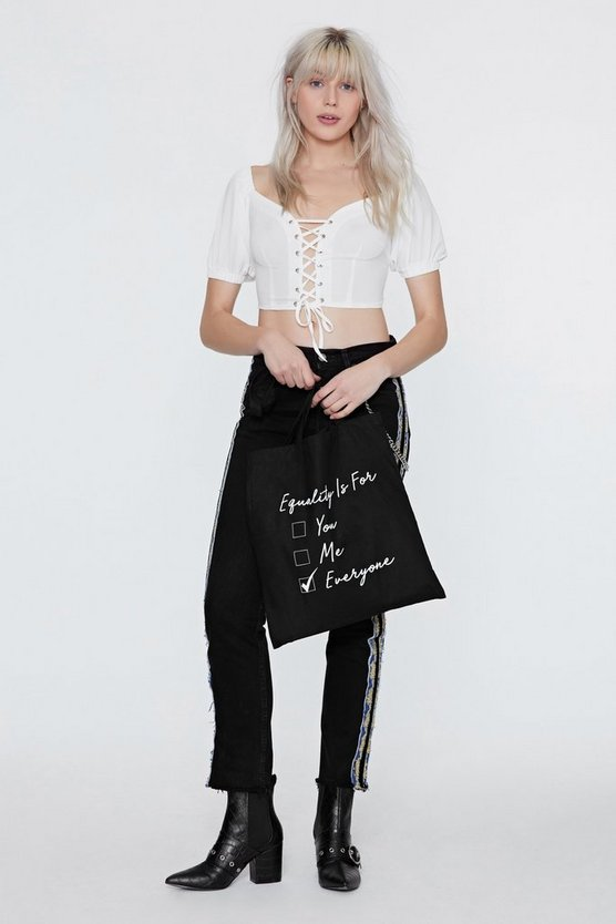Equality Is For Everyone Tote Bag by Nasty Gal