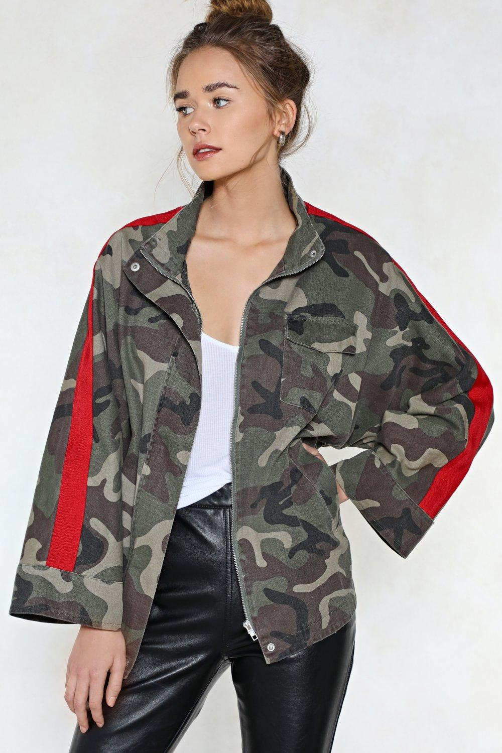 4ffb7c6c55d March On Camo Jacket. Hover to zoom