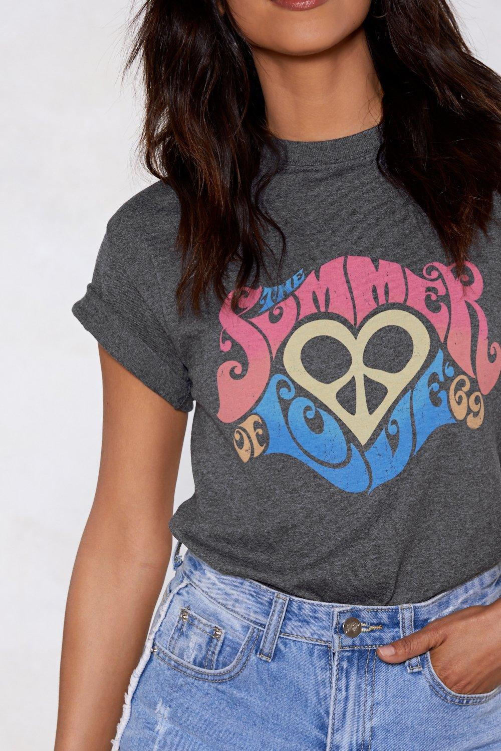 31030c591466 Summer of Love Relaxed Tee