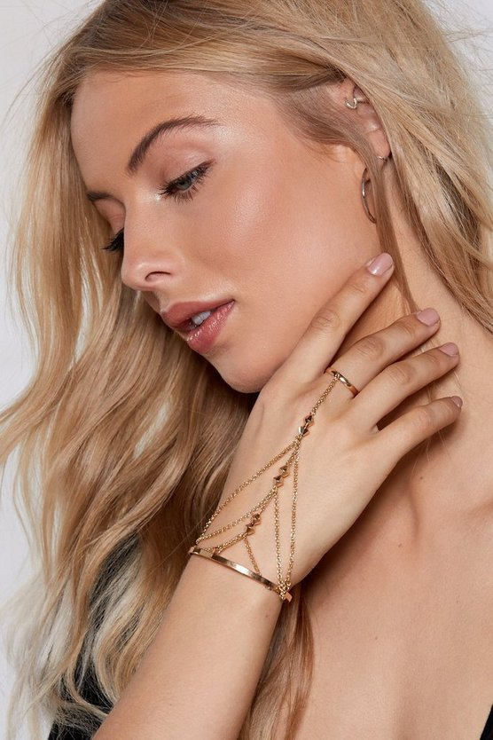 You Got The Touch Harness Bracelet by Nasty Gal