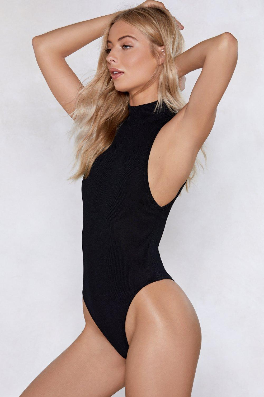 41c7c4fe Up to My Neck Ribbed Bodysuit | Shop Clothes at Nasty Gal!
