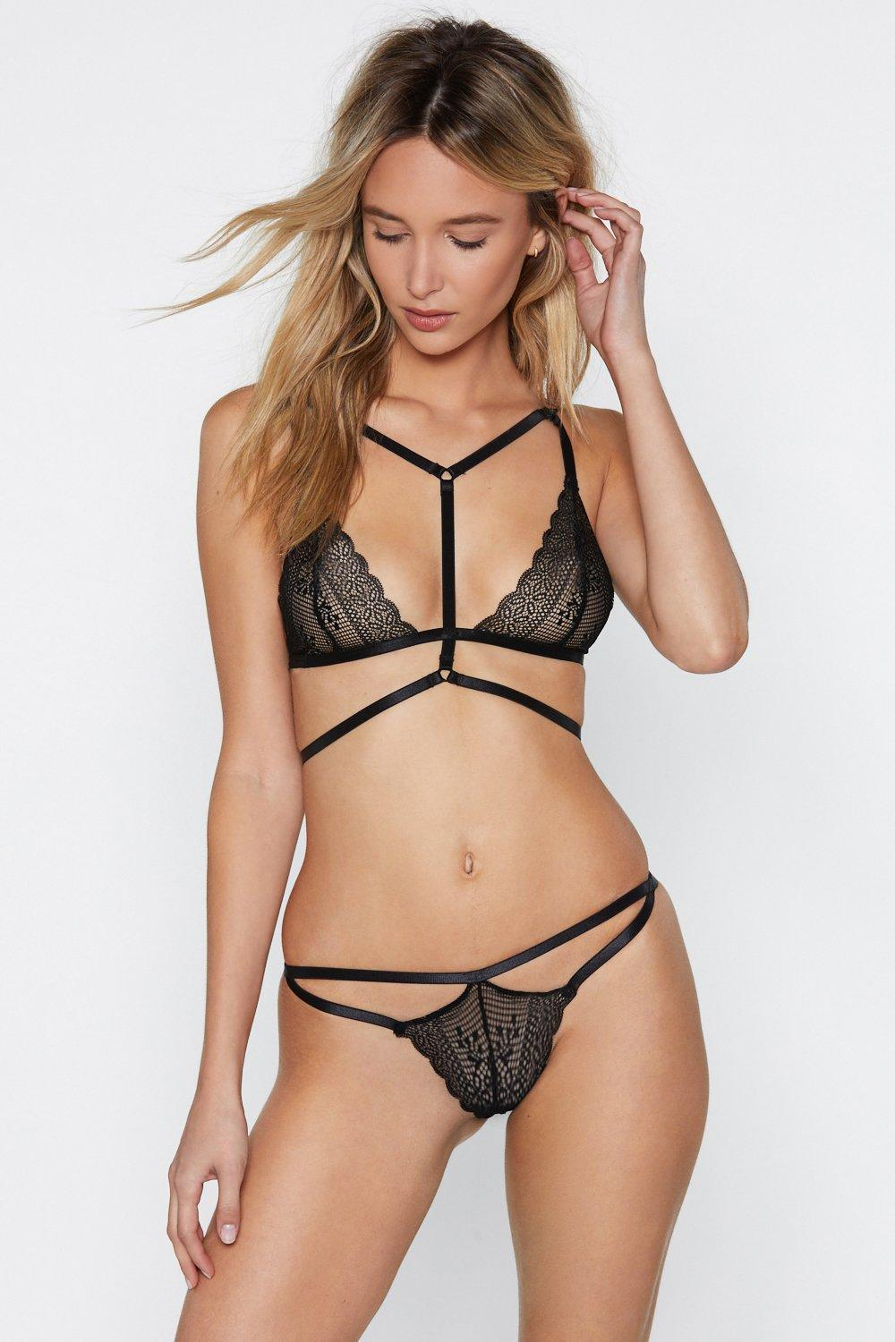 0a64f4d625e594 Hover to zoom · Dance For You Strappy Bralette ...