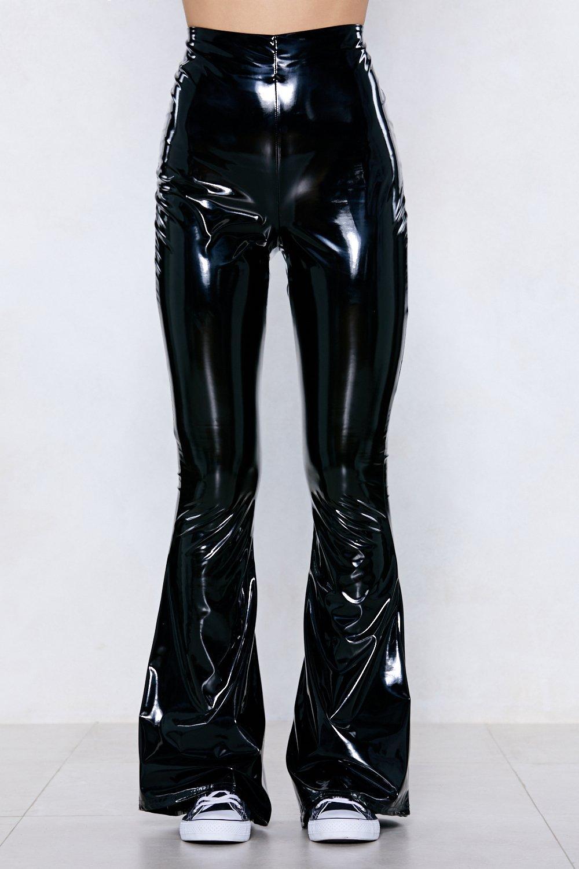 2462c0a094b899 Vinyl Chance Flare Pants | Shop Clothes at Nasty Gal!