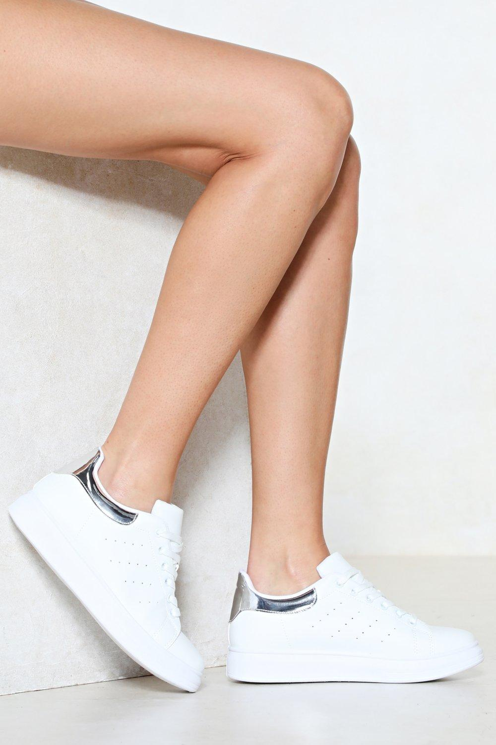 d3f278862 Sneaker a Peek Lace-Up Sneaker | Shop Clothes at Nasty Gal!
